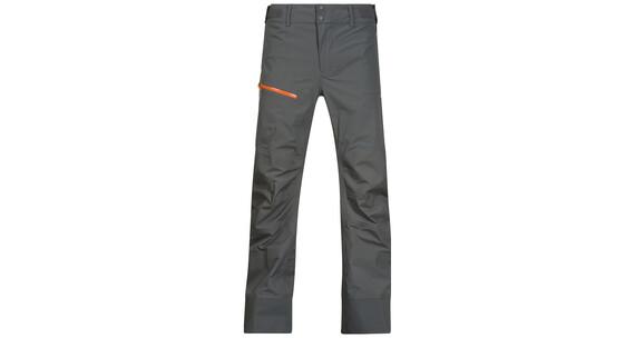 Bergans M's Storen Pants Solid Dark Grey/Pumpkin